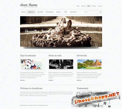 Dynamic CSS Templates - Superclean