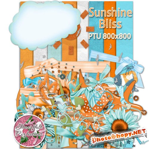Scrap-set - Sunshine Bliss