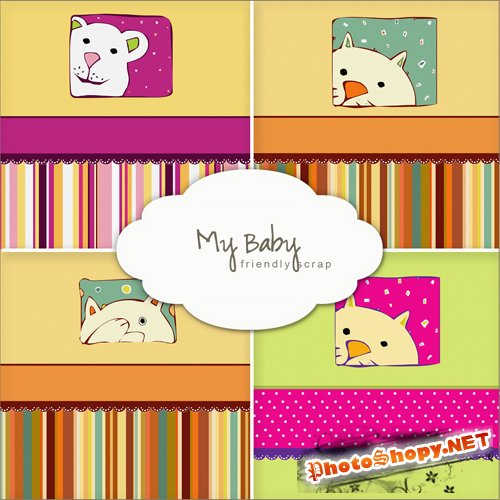 Backgrounds - My Baby