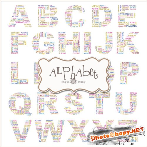 Scrap-kit - Text Alphabets