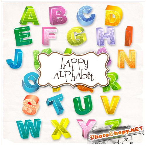 Scrap-kit - Happy Alphabet