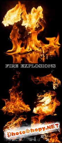 Fire Explosions - Stock Photos