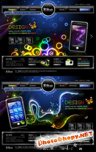 Best of Best World Templates PSD Nr.171