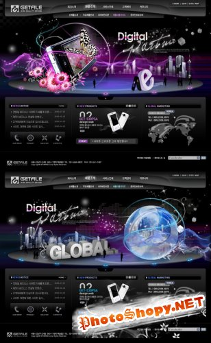 Digital Partner Templates PSD Nr.71