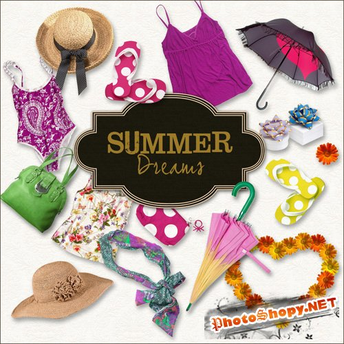 Scrap-kit - Summer Dreams