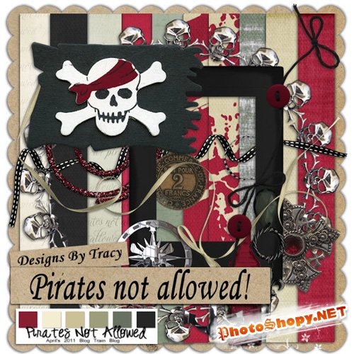 Scrap-set - Pirates Not Allowed!