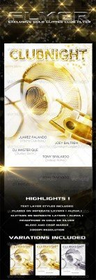 Golden House Party - GraphicRiver