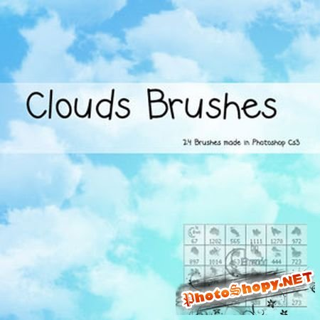 Кисти для Photoshop (Clouds Brushes)