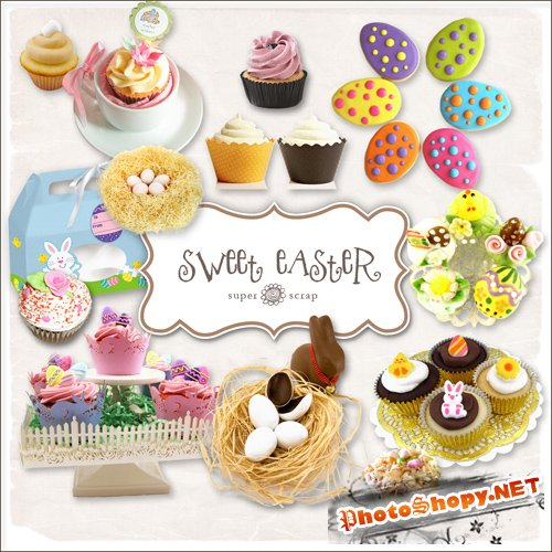 Scrap-kit - Sweet Easter