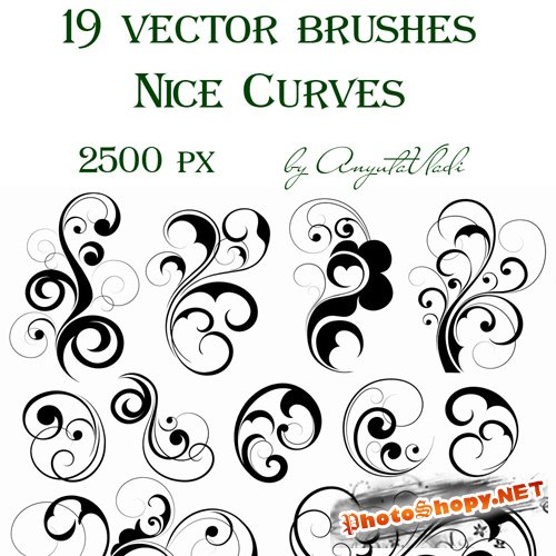 vector brushes Nice Curves