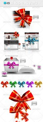 Web Knot and Ribbons – GraphicRiver