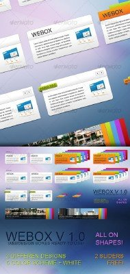 WEBOX Amazing Web Boxes - GraphicRiver
