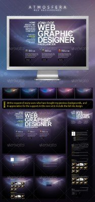 Atmosfera Web Backgrounds - GraphicRiver