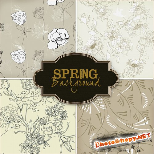 Textures - Spring Backgrounds #13