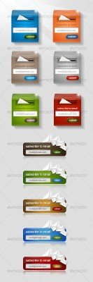 Subscribe Forms - GraphicRiver
