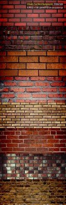 Exclusive Brick Backgrounds Pack - GraphicRiver