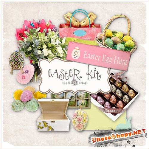 Scrap-kit - Easter Egg Hunt