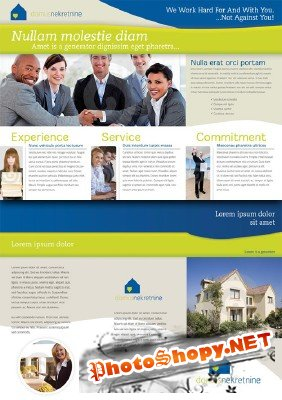 Brochure for Real Estate