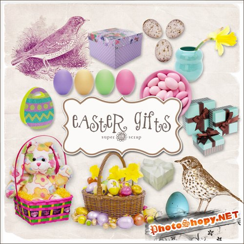 Scrap-kit - Easter Gifts #2