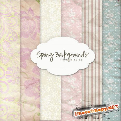 Textures - Spring Backgrounds #14
