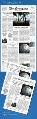 The Newspaper – frontpage - GraphicRiver