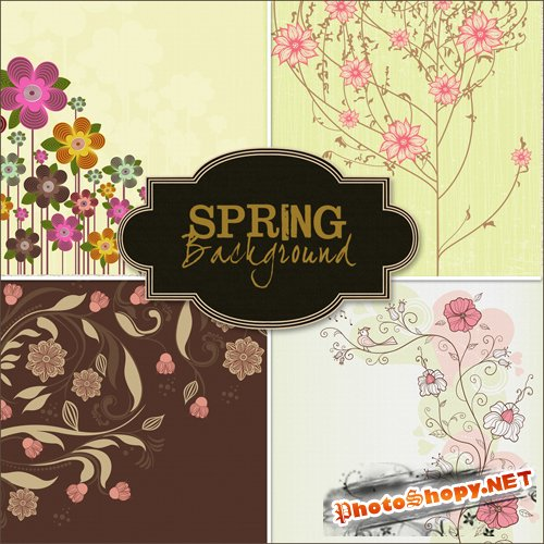 Textures - Spring Backgrounds #15