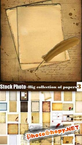 Stock Photo - Big collection of papers 3