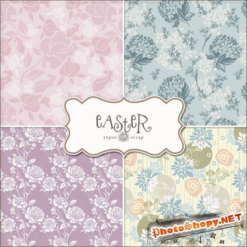 Textures - Easter Backgrounds #10