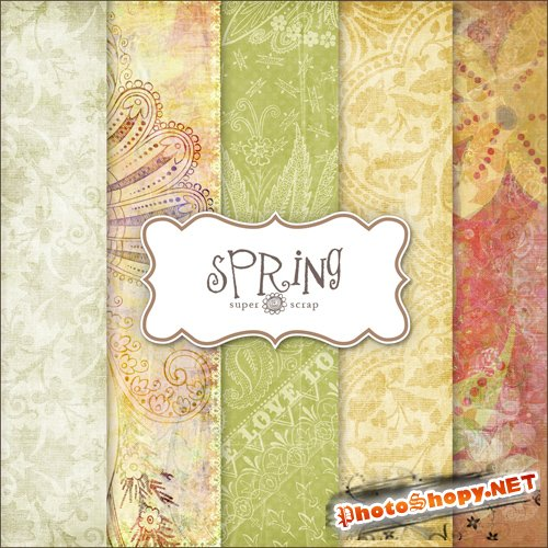 Textures - Spring Backgrounds #17