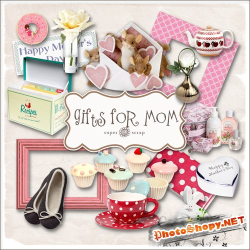 Scrap-kit - Gifts For Mom