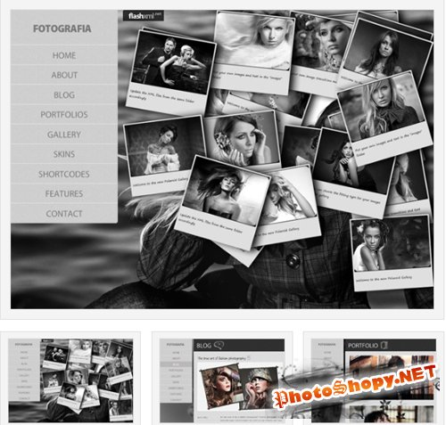 Fotografia Free WordPress Theme