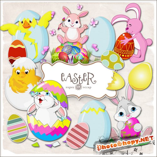 Scrap-kit - Easter Elements #3