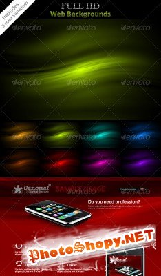 HD Backgrounds - GraphicRiver