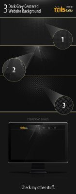 3 Dark backgrounds - GraphicRiver