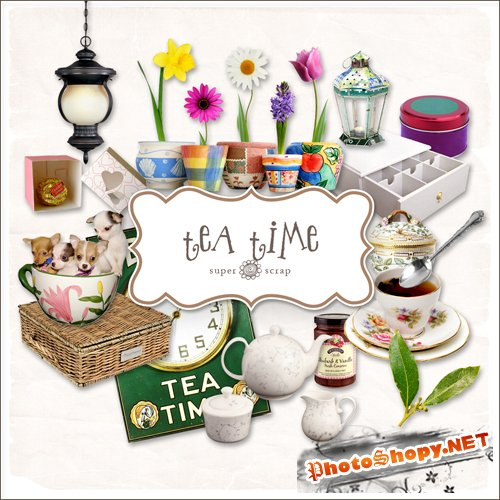 Scrap-kit - Tea Time