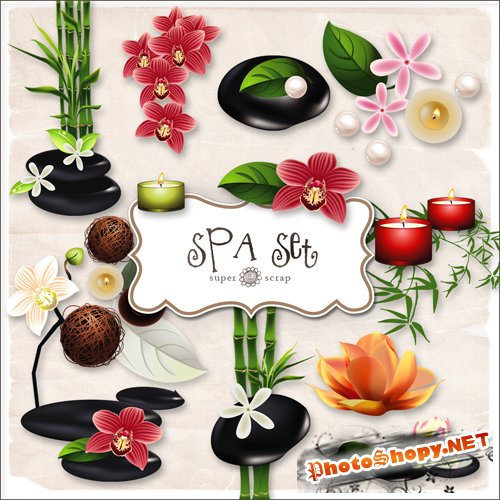 Scrap-kit - Spa Set