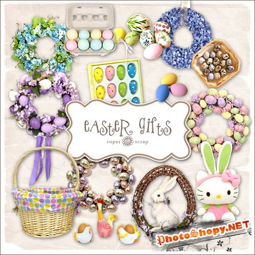 Scrap-kit - Easter Gifts #3