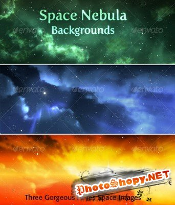 Space Nebula Background � GraphicRiver