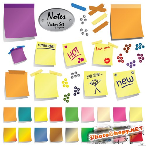 Sticky Post It Notes