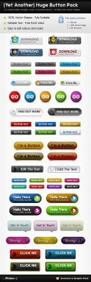 Button Pack - GraphicRiver