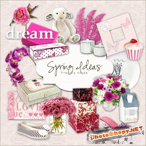 Scrap-kit - Spring Ideas