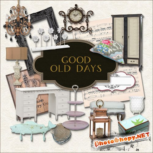 Scrap-kit - Good Old Days