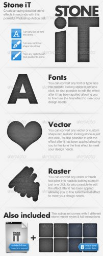 GraphicRiver Stone iT - Stone Action