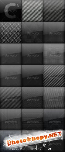GraphicRiver Carbon Fiber Backgrounds Mega Pack RETAIL