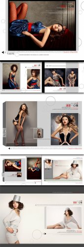 Mood studio album templates fragrance