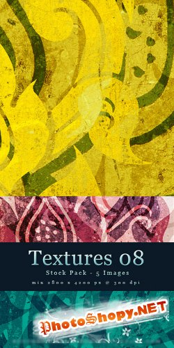 Textures 08 - Abstract Stock Pack