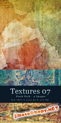 Textures 07 - Abstract Stock Pack