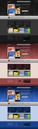 Excellent PSD WEB Templates