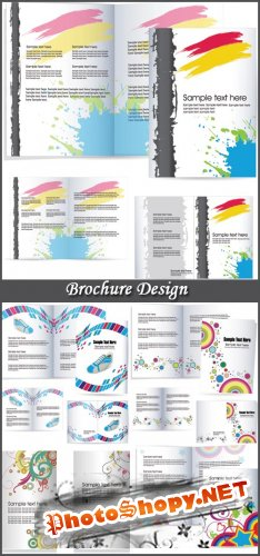Brochure Design - Stock Vectors