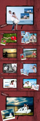 Photo Templates - His and Her Drunk Love Macro Series